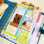 Keeping Happy Memories in my Planner