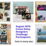 August 2016 Designers Challenge Winner