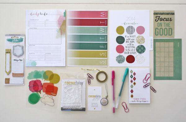 Dec Planner Kit