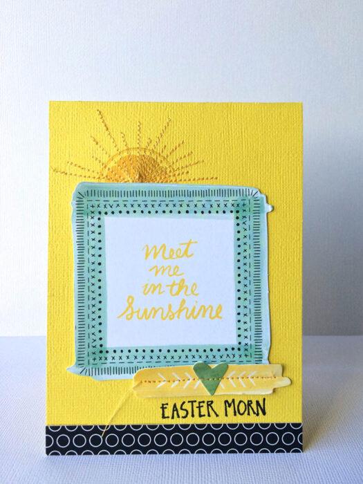 EasterMorncard