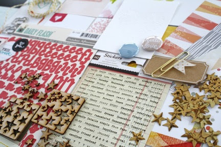 Cocoa Daisy Pocket Scrapbooking Kit, February Day in the Life
