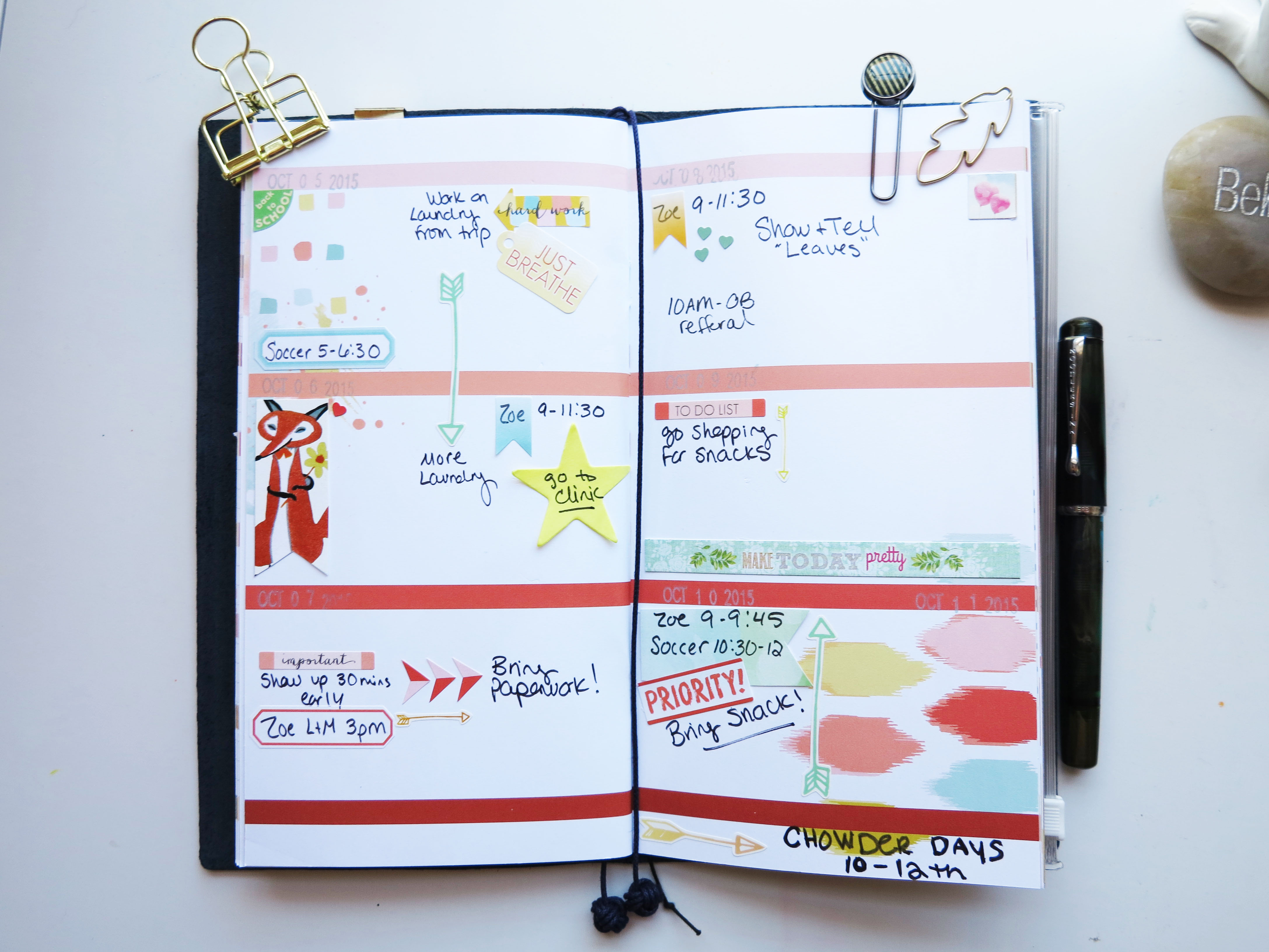 making your planner kit work in different planners cocoa daisy