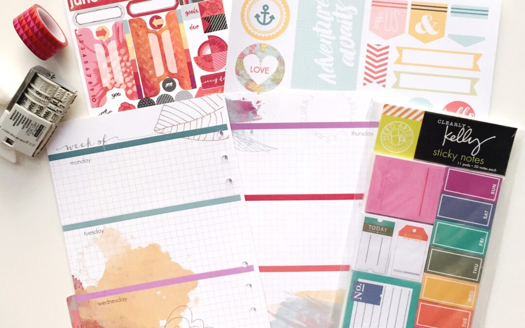 How to Utilize Planner Printables