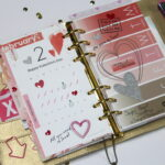 February Daisy Day Planner Kit in Action!