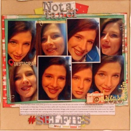 Not a Fan of Selfies January 2014 CD Kit