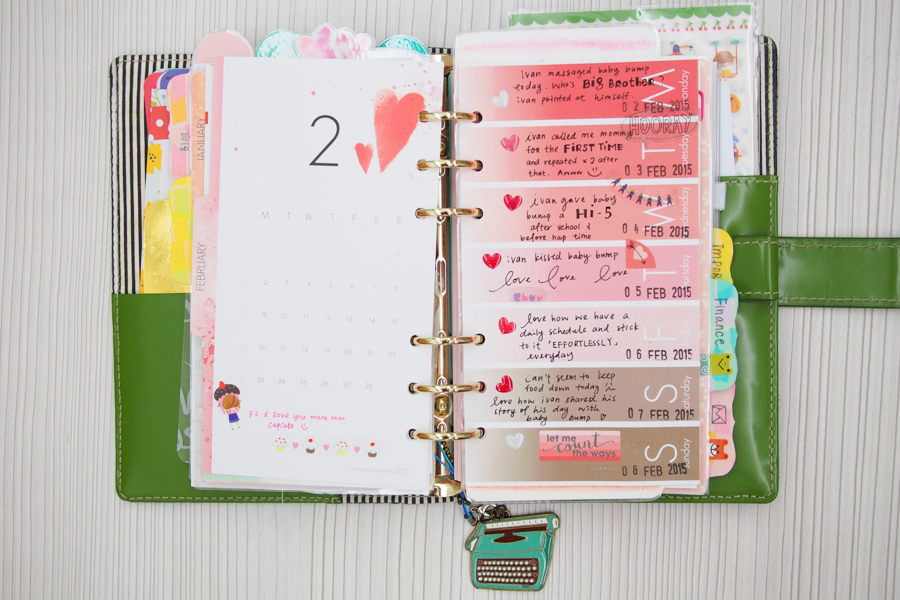 Planner Peace Finally My Weekly Pages Cocoa Daisy