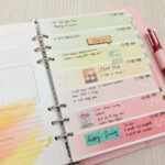 My Planner Set Up Using Daisy Day Planner
