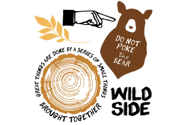 Wild Side Stamp