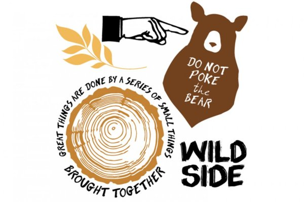 Wild side stamp set