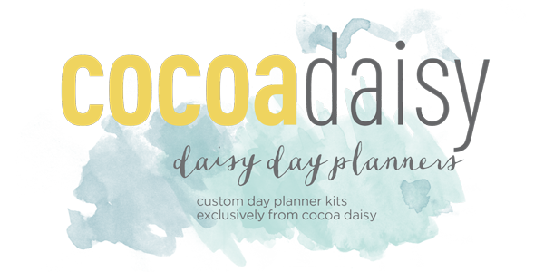 Cocoa Daisy Day Planners