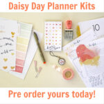 A SNEAK at our NEW Cocoa Daisy Day Planner! Pre order now.