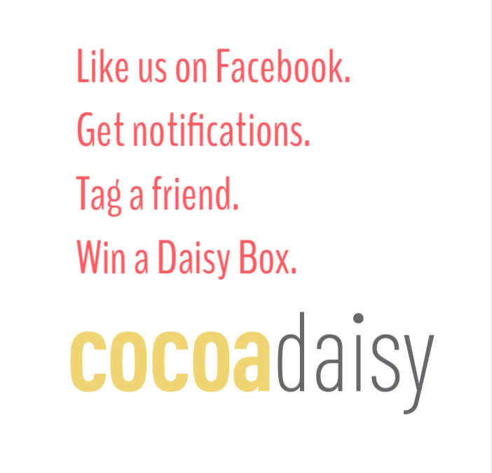 Find us on Facebook… and win :)