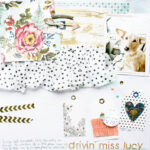 Polka Dots, Flowers, Layered Tags, and a Dog? Oh My….