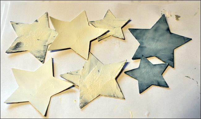 många stjärnor