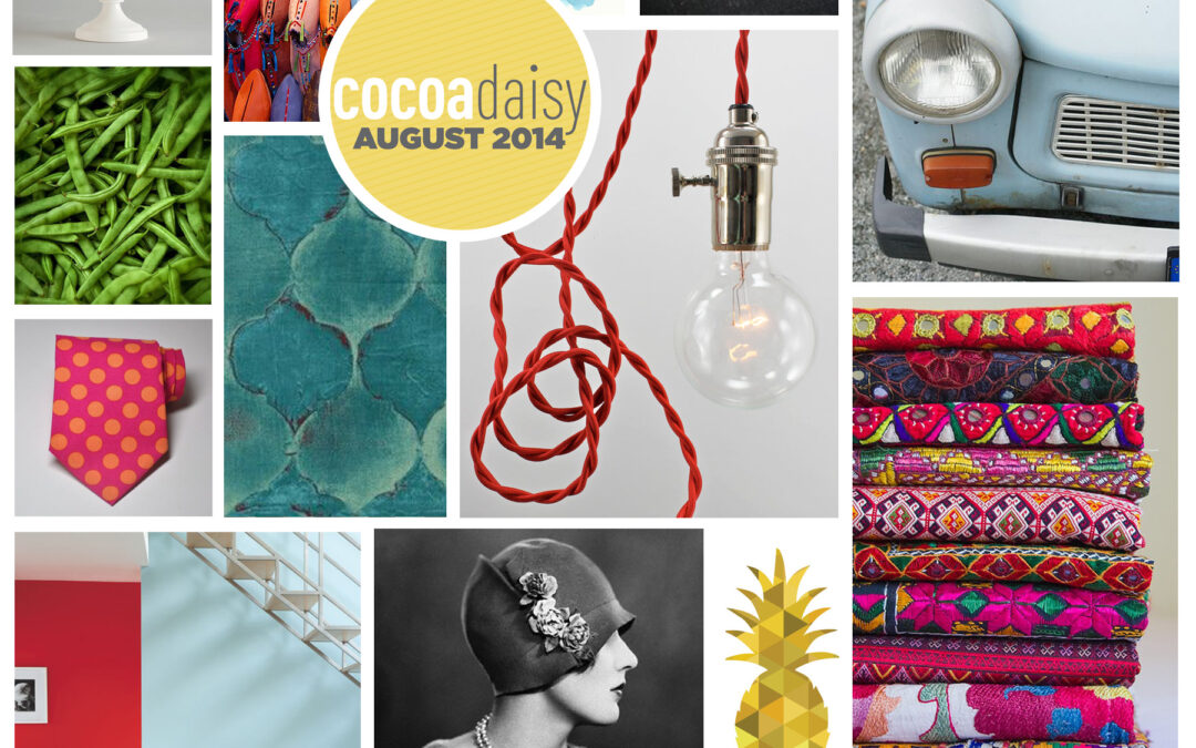 The August Mood Board from Cocoa Daisy